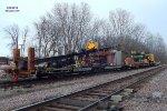 CNW x262100 110-ton Ohio locomotive crane & friends