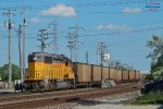 Cudahy local's Geep uses the Capitols to yard its 12 cars.