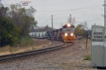 DRG&W heritage ACe leads mSSBU-25 from the Adams sub into the yard
