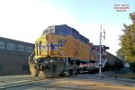 EDGX loads for Sheboygan - DPU shoving @ High St.