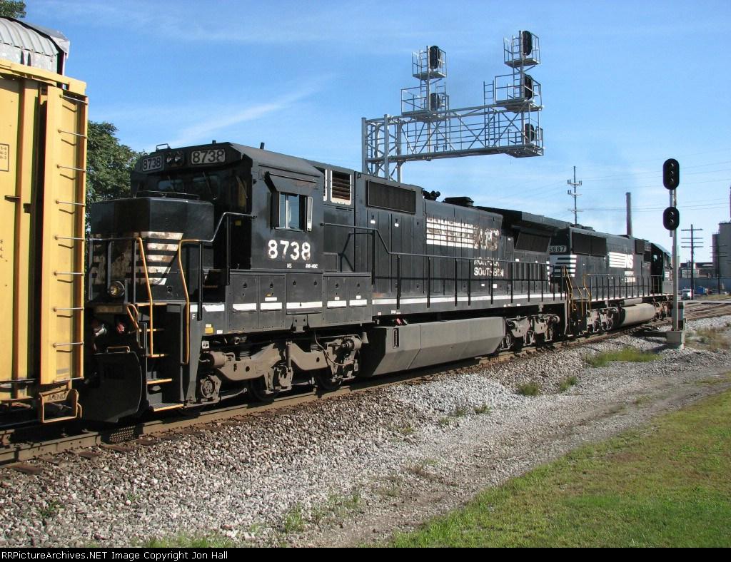 NS 8738 & 6687