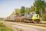 CSX 8768 & HLCX 6075 waiting for a crew before heading south with Q231