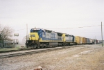 CSX 7623 & 8204 heading north with Q558
