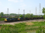 CSX 159 & 5239 waiting to go south with a K185