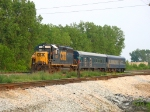 CSX 6139 waiting for a new crew with W001