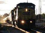 CSX 7832 heading east with K694's ethanol loads