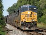 CSX 5383 & 5340 lead a molten sulfur train east as K892