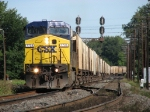 CSX 7725 leading G477 down the C&O
