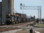 NS 9172 & 6760 start to pull west again with their coal loads