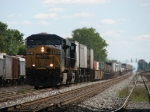 CSX 5381 & 5398 charging west with Q159