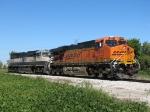 BNSF 6013 & 9767