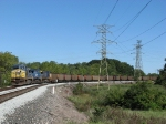 After crossing the Maumee, N849-15 rolls around the curve as it continues north