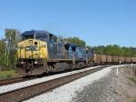 CSX 7650, 7303 & 7356 leading N849