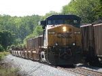 CSX 61 leads X150-16 south on the Toldeo Terminal