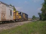 CSX 6093 & 2724 on D708