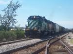 Q326 pulls through the siding