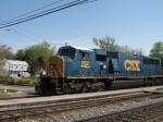 CSX 702 leading E725