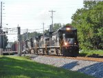 "NS 8813 leads an ""extra"" 16A east"