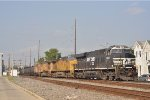 NS 8167 On NS 64 Q Eastbound