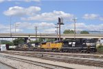 NS 8.500 On NS 177 Southbound On The Third Main At The West Valley