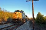 stopped empty rock train