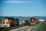 GWR 211 & ATSF 521
