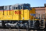 UP 9051 Front End as She Waits to Pull a Loaded Coal Train Westbount towards Salt Lake City's North Yard.