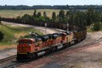 BNSF9222, BNSF9281 and UP5749