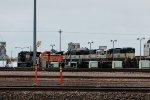 BNSF9554, BNSF9551, BNSF9553 and NS8942