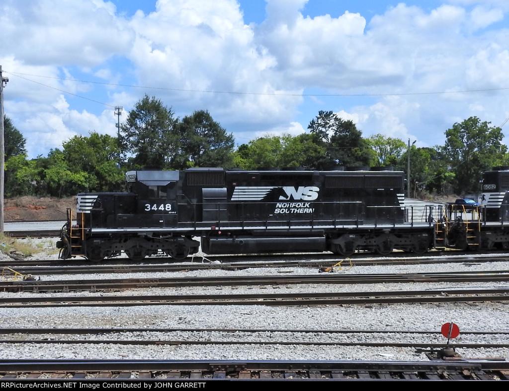 NS 3448 SD40-2 at NS Columbus Yard