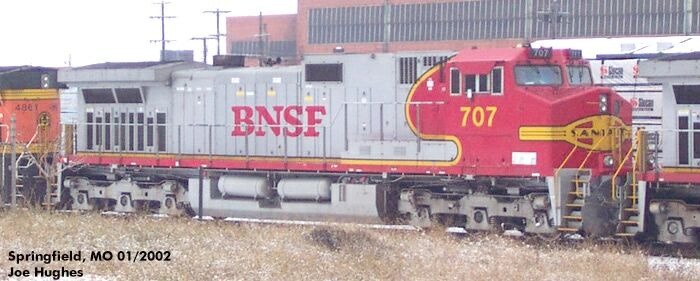 BNSF 0707