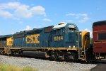 CSX GP40-2 6244