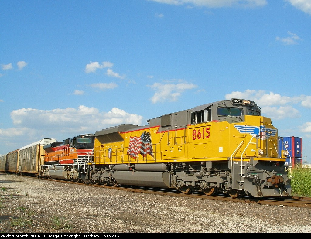 UP 8615 and 1996