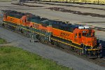 BNSF1528, BNSF589 and BNSF2015 in the yard