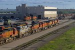 BNSF5303, CREX1412, BNSF4111, BNSF524, BNSF510 and others outside the Diesel Depot
