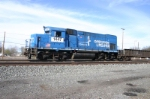 GP15-1 #2 sports a Conrail Op Life paint scheme