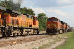 BNSF 5241 meets BNSF 5505 and the 634 Job at Gribble Siding.