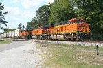 NS EB intermodal with BNSF power