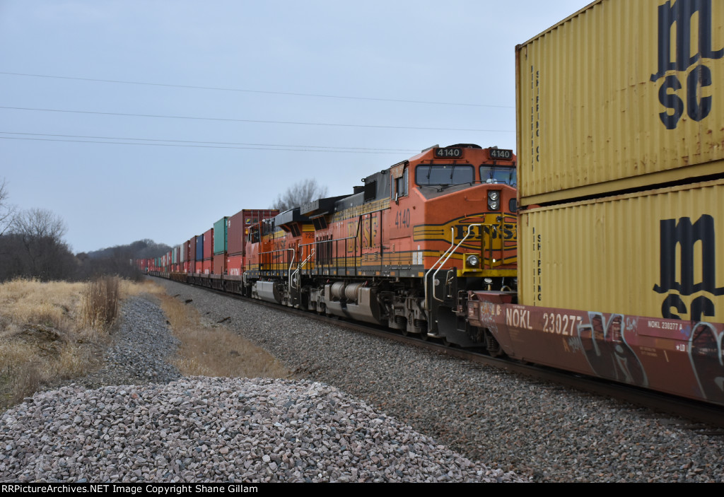 BNSF 4140 roster.