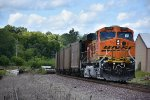 BNSF 5996 Dpu on a empty coal train.