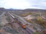 WB BNSF Z at Crozier Canyon, AZ