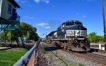 NS freight headed southbound at Marion, Ohio