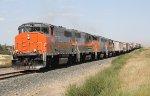 DMVW 9658 on the Point of a Westbound Empty Grain Train