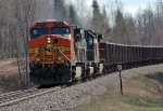 BNSF All-Rail empties