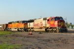 BNSF 8206 on coal empties.