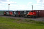 CN 8001 at Pokegama Yard.