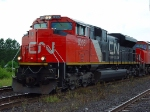 CN SD70M-2 8005 Firemans side
