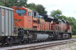 BNSF 5064 and 9245