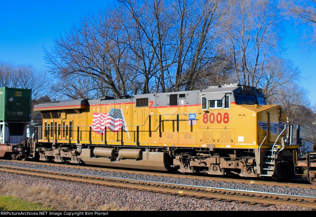 UP 8008 Mid-Train DPU