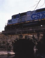 Classic PRR stone arch